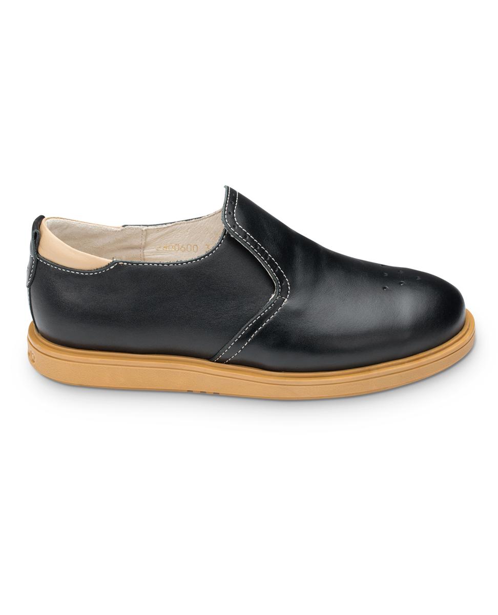 FT-24006.16-OL01O.01Полуботинки TapiBoo выполнены из натуральной кожи и оформлены декоративной перфорацией. Полужесткий задник зафиксирует стопу, не давая ей смещаться в разные стороны. Ярлычок на заднике облегчит надевание обуви. Модель оснащена эластичной резинкой для удобства надевания. Внутренняя поверхность и стелька выполнены из натуральной мягкой кожи. Стелька дополнена супинатором с перфорацией, которая обеспечивает правильное положение стопы ребенка при ходьбе и предотвращает плоскостопие. Подошва выполнена из прочного ТЭП-материала, а ее рельефная поверхность гарантирует отличное сцепление.