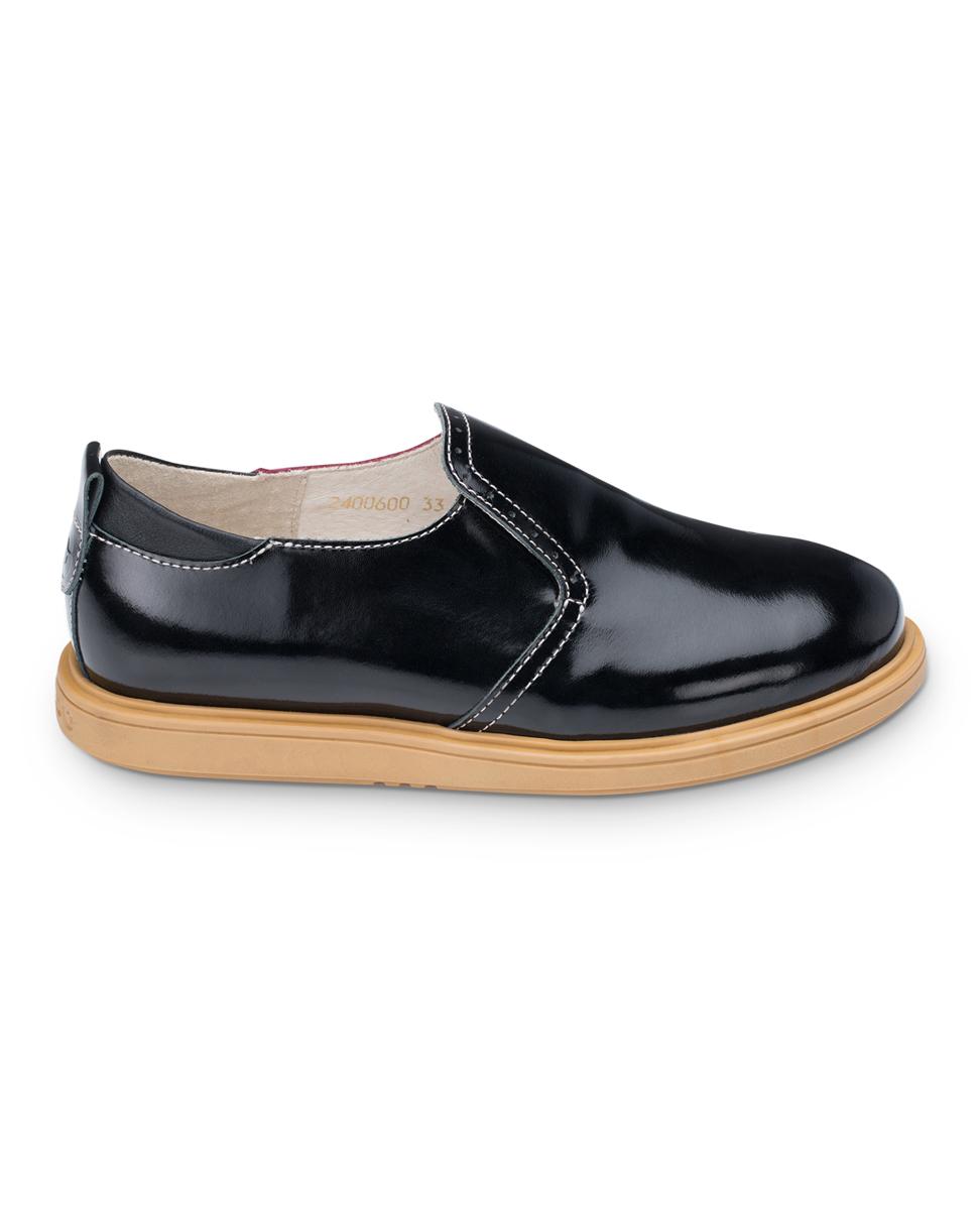 FT-24006.16-OL01O.02Полуботинки TapiBoo выполнены из натуральной кожи разной текстуры и оформлены декоративной перфорацией. Полужесткий задник надежно зафиксирует стопу, не давая ей смещаться в разные стороны. Ярлычок на заднике облегчит надевание обуви. Модель оснащена эластичной резинкой для удобства надевания. Внутренняя поверхность и стелька выполнены из натуральной мягкой кожи. Стелька дополнена супинатором с перфорацией, которая обеспечивает правильное положение стопы ребенка при ходьбе и предотвращает плоскостопие. Подошва выполнена из прочного ТЭП-материала, а ее рельефная поверхность гарантирует отличное сцепление.