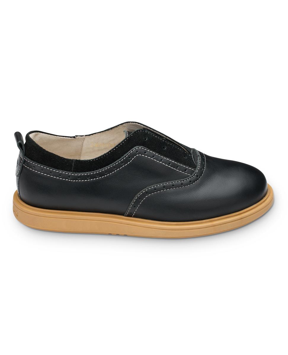 FT-24007.16-OL01O.02Полуботинки TapiBoo выполнены из натуральной кожи разной текстуры и оформлены декоративной перфорацией. Подъем оформлен декоративными берцами. Полужесткий задник зафиксирует стопу, не давая ей смещаться в разные стороны. Ярлычок на заднике облегчит надевание обуви. Модель оснащена эластичной резинкой для удобства надевания. Внутренняя поверхность и стелька выполнены из натуральной мягкой кожи. Стелька дополнена супинатором с перфорацией, которая обеспечивает правильное положение стопы ребенка при ходьбе и предотвращает плоскостопие. Подошва выполнена из прочного ТЭП-материала, а ее рельефная поверхность гарантирует отличное сцепление.