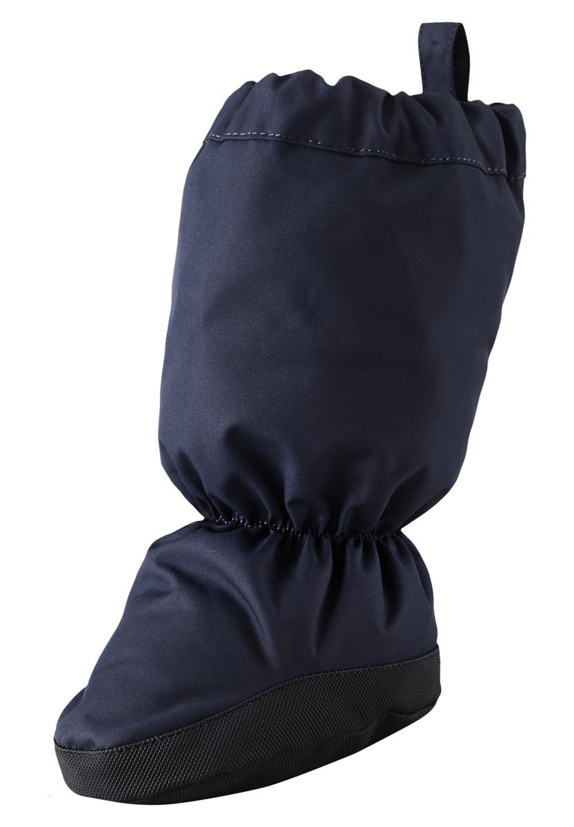517136-4620Утепленные пинетки согреют маленькие ножки и сохранят их сухими. Они изготовлены из пропускающего воздух, водоотталкивающего материала, но швы не проклеены, поэтому старайтесь избегать луж! Каучуковая подошва предотвращает скольжение, чтобы первые шаги на улице были безопасными, а материал поверхности отталкивает грязь. Благодаря мягкой вязаной подкладке с начёсом ботиночки очень удобны в носке. Водонепроницаемость: Waterpillar over 15 000 mm.
