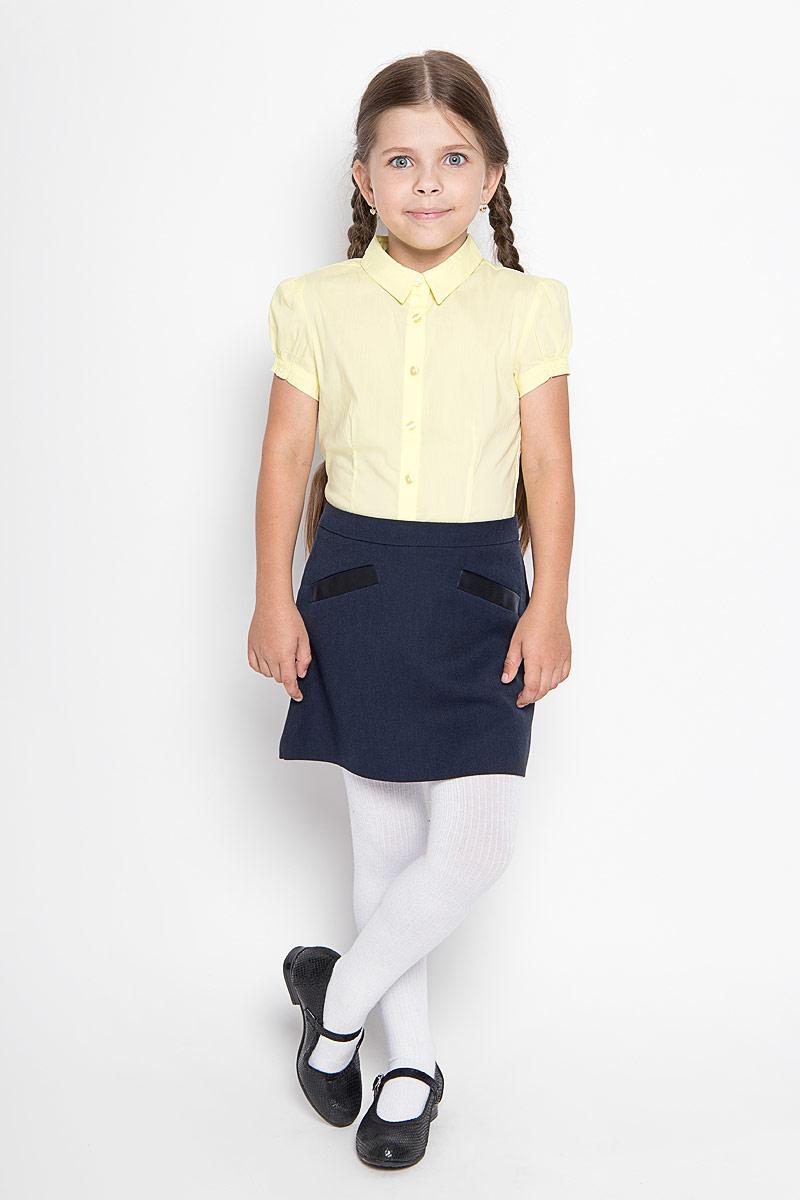 Юбка64124_OLG,вариант 1Юбка для девочки Orby School идеально подойдет вашей моднице и станет отличным дополнением к ее школьному гардеробу. Изготовленная из высококачественного комбинированного материала, она мягкая и приятная на ощупь, не сковывает движения, не раздражает нежную кожу ребенка, обеспечивая наибольший комфорт. Модель-миди застегивается на потайную застежку-молнию сбоку. С внутренней стороны пояс регулируется эластичной резинкой с пуговицами. Спереди изделие оформлено имитацией втачных карманов. В такой модной юбке ваша дочурка будет чувствовать себя комфортно, уютно и всегда будет в центре внимания!