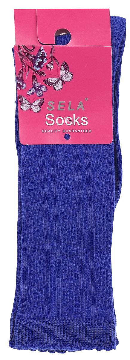 НоскиSOb-4/020-6302Детские носки Sela, изготовленные из высококачественного материала, очень мягкие и приятные на ощупь, позволяют коже дышать. Эластичная резинка мягко облегает ногу, не сдавливая ее, обеспечивая комфорт и удобство. Носки с удлиненным паголенком оформлены своеобразным принтом в виде узоров. Удобные и комфортные носочки великолепно подойдут к любой детской обуви.