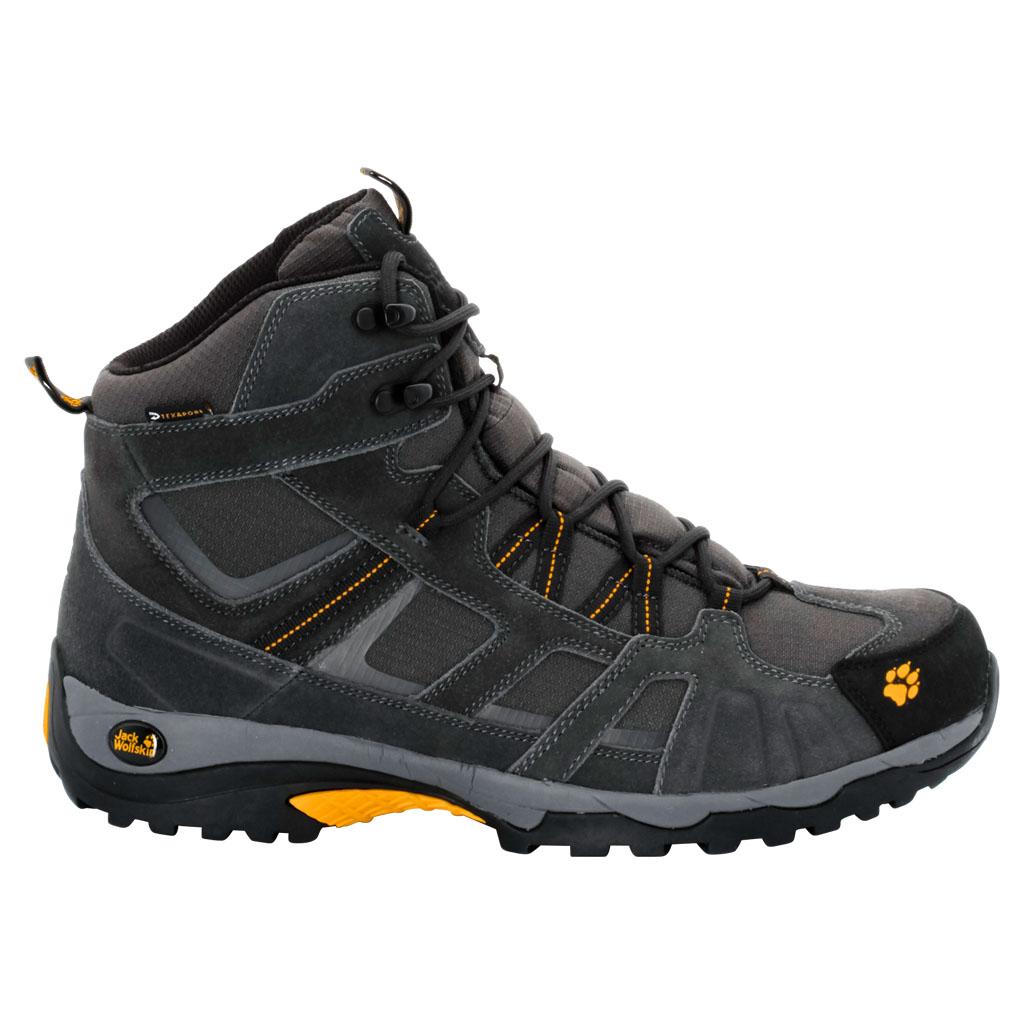 Jack Wolfskin Ботинки трекинговые мужские Vojo Hike Mid Texapore Men. 4011361-3800