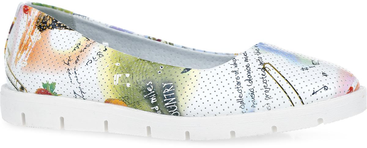 Туфли для девочки. 10320-210320-2Очаровательные туфли от Зебра придутся по душе вашей юной моднице! Модель изготовлена из искусственной кожи и оформлена перфорацией. Уплотненный задник предназначен для лучшей фиксации обуви на ноге. Внутренняя часть и стелька изготовлены из натуральной кожи. Стелька дополнена небольшим супинатором, который обеспечивает правильное положение ноги ребенка при ходьбе, предотвращает плоскостопие. Подошва выполнена из гибкого, не скользящего материала, устойчивого к истиранию и перепадам температур. Чудесные туфли займут достойное место в гардеробе вашего ребенка.