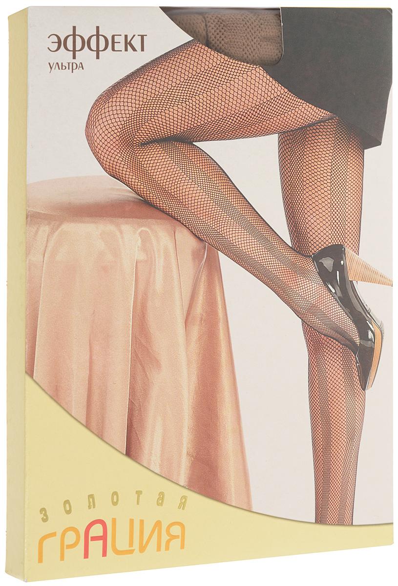 Колготки женские Эффект ультраЭффект ультраМодные фантазийные колготки в сеточку с вертикальными полосами, визуально удлиняющими ноги. Изготовлены по бесшовной технологии, с ластовицей. Эластичная резинка на поясе плотно облегает талию, обеспечивая комфорт и удобство.