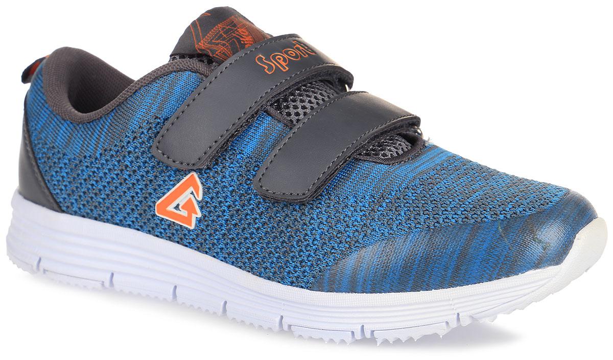 74181-2Стильные кроссовки от Kapika придутся по душе вашему сыну. Модель выполнена из текстиля и искусственной кожи. Обувь оформлена надписью на ремешке Sport, аппликацией на тыльной стороне из ПВХ и фирменной нашивкой на язычке, который также дополнен сетчатым материалом. Ремешки на застежках-липучках обеспечат надежную фиксацию модели на ноге. Ярлычок на заднике предусмотрен для удобного надевания кроссовок. Стелька из ЭВА материала и подкладка, изготовлены из текстиля, что гарантирует комфорт при движении. Стелька дополнена супинатором, который обеспечивает правильное положение стопы ребенка при ходьбе и предотвращает плоскостопие. Анатомическая антибактериальная стелька гарантирует воздухопроницаемость, отличную амортизацию, сохранение комфортного микроклимата обуви, эффективное поглощение влаги и неприятных запахов. Облегченная подошва с рифлением обеспечивает идеальное сцепление с любой поверхностью. Оригинальные кроссовки - незаменимая вещь в гардеробе каждого...