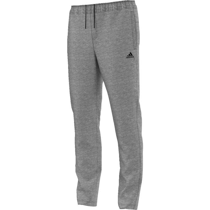 AK2193Удобные спортивные брюки для тренировок. Эти брюки, выполненные из дышащей ткани с технологией climalite, помогут сохранить приятное чувство свежести в течение всей тренировки. Боковые карманы, эластичный пояс на регулируемых завязках-шнурках, логотип adidas на левой ноге. Зауженный к низу крой.