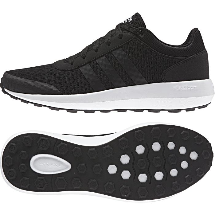 Кроссовки муж Cloudfoam race. AW5321AW5321КРОССОВКИ CLOUDFOAM RACE Совершенный стиль. Эти кроссовки, созданные под вдохновением от современной беговой обуви, дополнены лаконичным верхом из сетки с узором. Мягкая амортизация cloudfoam обеспечивает комфорт при движении. Текстурный верх из сетки Вставки из искусственной замши Бесшовные три полоски и вставка на мыске Стелька cloudfoam для комфорта и мягкой амортизации Промежуточная подошва cloudfoam для поглощения ударных нагрузок и комфортной посадки без разнашивания Резиновая подошва