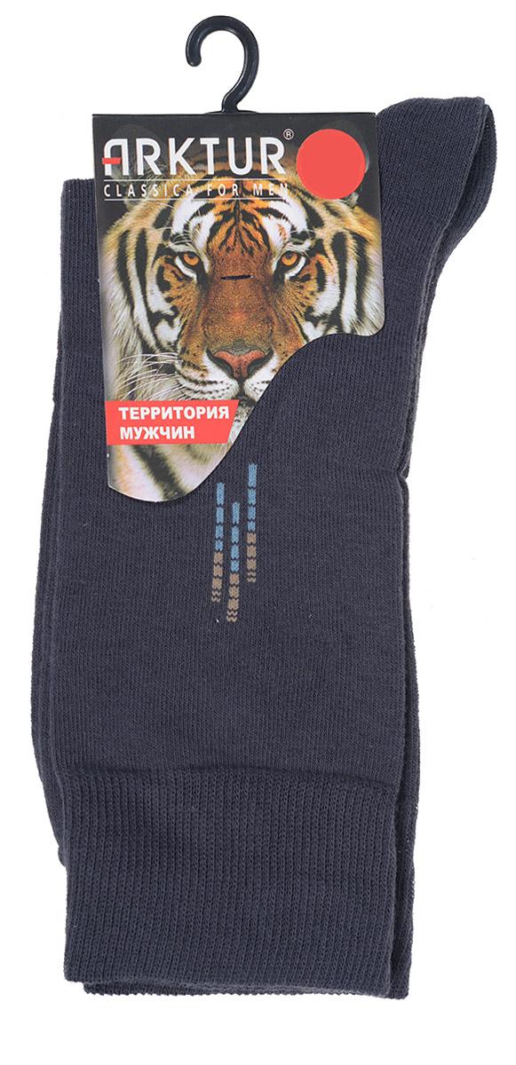 НоскиJ 008Мужские носки Arktur с удлиненным паголенком изготовлены из хлопка с небольшим добавлением полиамида и лайкры. Комфортная широкая резинка пресс-контроль не сдавливает и комфортно облегает ногу. Идеальное сочетание практичности, легкости и комфорта. Удобные носки станут отличным дополнением к вашему гардеробу.
