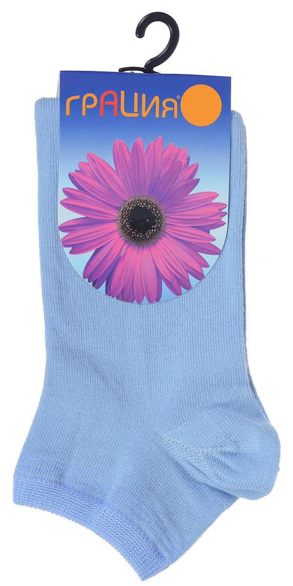 НоскиH 001Удобные женские носки Грация, изготовленные из высококачественного комбинированного материала, очень мягкие и приятные на ощупь, позволяют коже дышать. Эластичная резинка плотно облегает ногу, не сдавливая ее, обеспечивая комфорт и удобство. Носки с укороченным паголенком оформлены полосками контрастного цвета в верхней части носка. Удобные и комфортные носки великолепно подойдут к любой вашей обуви.