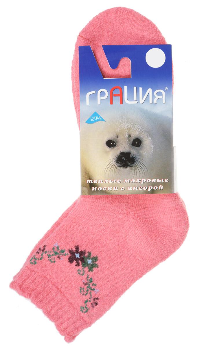 Носки женские. М 1106М 1106Теплые женские носки Грация, изготовленные из высококачественного комбинированного материала, очень мягкие и приятные на ощупь, позволяют коже дышать. Эластичная резинка плотно облегает ногу, не сдавливая ее, обеспечивая комфорт и удобство. Махровые носки имеют паголенок стандартной длинны и оформлены цветочным принтом. Удобные и комфортные носки великолепно подойдут к любой вашей обуви.