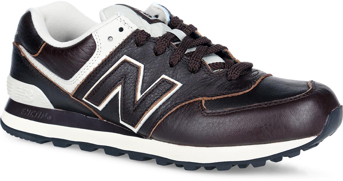 Кроссовки мужские 574 Classic. ML574LUML574LUA/DСтильные кроссовки 574 Classic от New Balance придутся вам по душе. Верх модели выполнен из натуральной и искусственной кожи, язычок - из нейлона. По бокам обувь оформлена нашивками из искусственной кожи в виде фирменного логотипа бренда, на язычке - фирменной нашивкой, на заднике - вышитым названием бренда. Классическая шнуровка надежно зафиксирует изделие на ноге. Мягкая подкладка, изготовленная из текстиля, гарантирует уют и предотвращает натирание. Стелька из материала ЭВА с текстильной поверхностью, дополненная легкой перфорацией для лучшей воздухопроницаемости, обеспечивает комфорт. Благодаря технологии Encap значительно снижается нагрузка на пятку и позвоночник. Резиновая подошва с рифлением обеспечивает отличное сцепление с любой поверхностью. Удобные кроссовки займут достойное место среди коллекции вашей обуви.