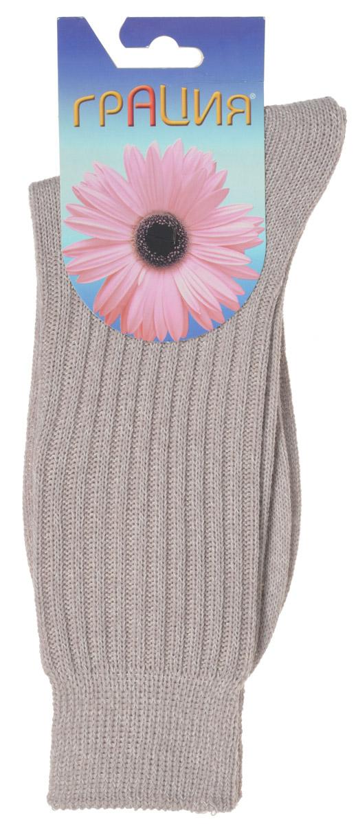 НоскиМ 1109Теплые женские носки Грация, изготовленные из высококачественного комбинированного материала, очень мягкие и приятные на ощупь, позволяют коже дышать. Эластичная резинка плотно облегает ногу, не сдавливая ее, обеспечивая комфорт и удобство. Носки связанные резинкой 2х2 имеют удлиненный паголенок. Модель оформлена рельефным принтом в полоску. Удобные и комфортные носки великолепно подойдут к любой вашей обуви.