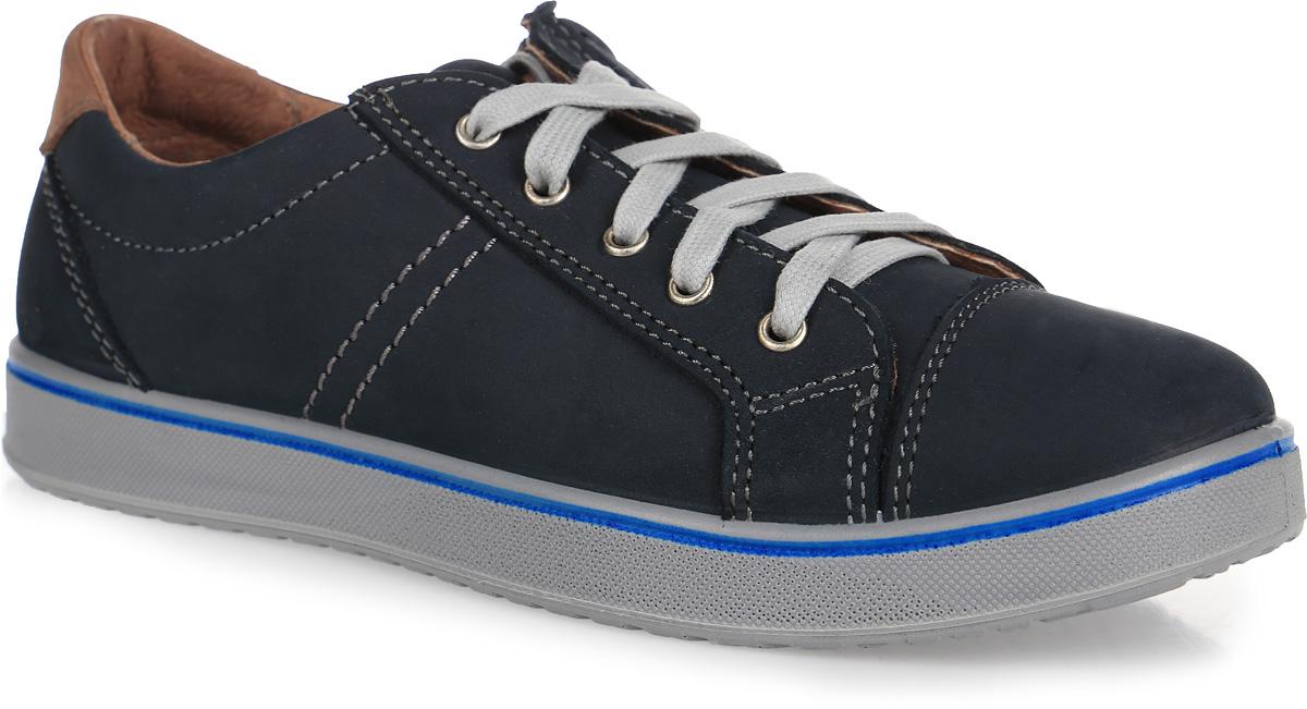 Полуботинки для мальчика. 632193-22632193-22Модные полуботинки Котофей не оставят равнодушным вашего мальчика! Модель полностью выполнена из натуральной кожи и стилизована под кеды. Модель фиксируется на ноге с помощью удобной змейки и шнурков, обеспечивающих идеальную фиксацию обуви на стопе. Стелька из натуральной кожи дополнена небольшим супинатором с перфорацией, который обеспечивает правильное положение стопы ребенка при ходьбе и предотвращает плоскостопие. Мягкий манжет создает комфорт при ходьбе и предотвращает натирание ножки ребенка. Подошва изготовлена из качественной резины и имеет рельефный рисунок подошвы. Практичные и стильные полуботинки займут достойное место в гардеробе вашего мальчика.