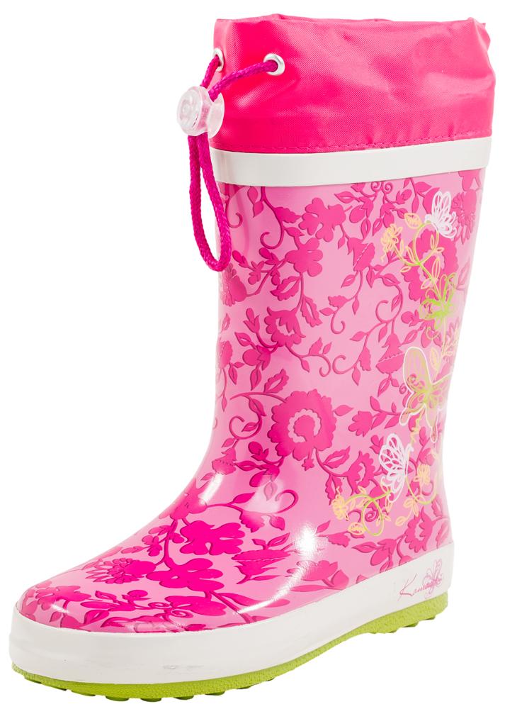 566102-11Яркие, красочные модные резиновые сапожки! Сделаны из современных материалов. Отсутствие застежки позволяет удобно и быстро обувать и снимать их.