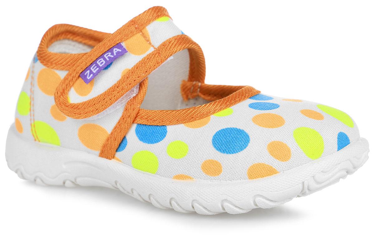 Сандалии для девочки. 3-113TF3-113TFПрелестные сандалии от Зебра придутся по душе вашей юной моднице! Модель изготовлена из текстиля и оформлена ярким принтом. Ремешок с застежкой-липучкой прочно зафиксирует модель на ножке. Стелька с поверхностью из натуральной кожи комфортна при движении. Стелька оснащена супинатором, который обеспечивает правильное положение стопы ребенка при ходьбе и предотвращает плоскостопие. Подошва с рифлением обеспечивает идеальное сцепление с любыми поверхностями. Стильные сандалии - незаменимая вещь в гардеробе каждой девочки.
