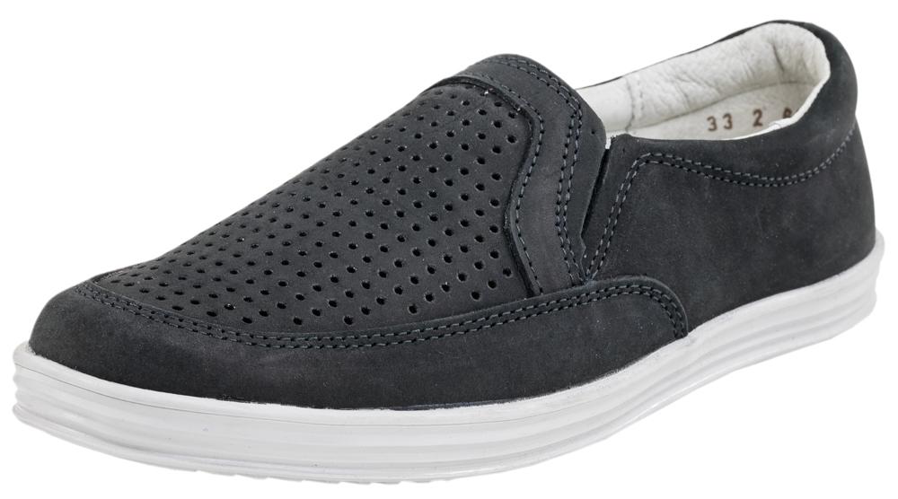 Полуботинки для мальчика. 632190632190-21Стильные и удобные полуботинки от Котофей выполнены из натурального нубука. Сквозная перфорация в носочной части обеспечивает отличную воздухопроницаемость и способствует поддержанию благоприятного микроклимата внутри обуви в течение всего дня. Кожаная подкладка и стелька из натуральной кожи, дублированная мягким вспененным материалом, абсорбируют образующуюся внутри обуви влагу и гарантируют полный комфорт. Эластичные вставки по бокам позволяют легко надевать и снимать модель и в то же время гарантируют плотное прилегание обуви к ноге. Мягкий манжет создает комфорт при ходьбе и предотвращает натирание ножки ребенка. Подошва с рифлением обеспечивает отличное сцепление с любой поверхностью. Такие полуботинки - отличное решение для каждодневного использования!