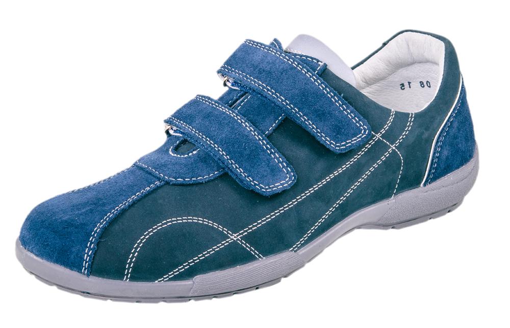 Кроссовки для мальчика. 732110-22732110-22Удобные и комфортные полуботинки выполнены полностью из натуральной кожи. Стелька из натуральной кожи, дублированная мягким вспененным материалом, обладает свойствами гигроскопичности и воздухопроницаемости. Два ремня с застежкой велькро позволяет легко обувать и снимать обувь и надежно фиксируют ножку. Подошва клеевая.