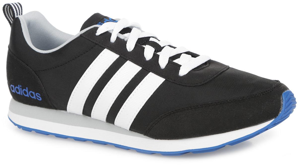 Кроссовки мужские V Run VS. AW4696AW4696Модные мужские кроссовки V Run VS от adidas Neo идеально подойдут для прогулок и занятия спортом. Верх выполнен из текстиля и дополнен вставками из искусственной кожи. Язычок оформлен текстильной нашивкой с логотипом бренда, боковая сторона - названием бренда. Легкая промежуточная подошва из материала ЭВА обладает высокой износостойкостью и обеспечивает идеальную амортизацию. Стелька из материала ЭВА с текстильной поверхностью комфортна при движении в течение всего дня. Резиновая подошва с протектором гарантирует идеальное сцепление с любыми поверхностями. Классическая шнуровка надежно зафиксирует модель на ноге. В таких кроссовках вашим ногам будет комфортно и уютно.