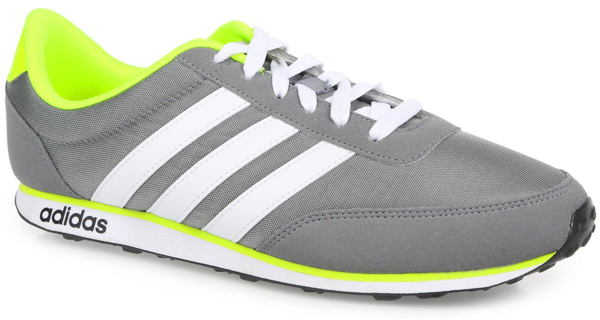 Кроссовки мужские V Racer. AW505AW5051Модные мужские кроссовки V Racer от adidas Neo идеально подойдут для прогулок и занятия спортом. Верх выполнен из текстиля и дополнен вставками из искусственной кожи. Язычок оформлен текстильной нашивкой с логотипом бренда, задник - названием бренда. Легкая промежуточная подошва из материала ЭВА обладает высокой износостойкостью и обеспечивает идеальную амортизацию. Стелька из материала ЭВА с текстильной поверхностью комфортна при движении в течение всего дня. Резиновая подошва с протектором гарантирует идеальное сцепление с любыми поверхностями. Классическая шнуровка надежно фиксирует модель на ноге. В таких кроссовках вашим ногам будет комфортно и уютно.