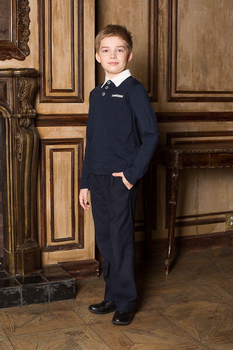 Джемпер для мальчика. 206604206604Джемпер для мальчика с воротником поло, с длинным рукавом, выполнен из качественного натурального трикотажа, что обеспечивает комфортность и простоту в носке.