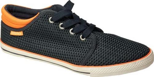 6-032RBКеды от ЭкоТекс выполнены из текстиля. Шнуровка надежно зафиксирует модель на ноге. Стелька из кожи обеспечит ногам комфорт. Внутренняя поверхность из текстиля не натирает. Подошва с рифлением обеспечивает идеальное сцепление с любой поверхностью.