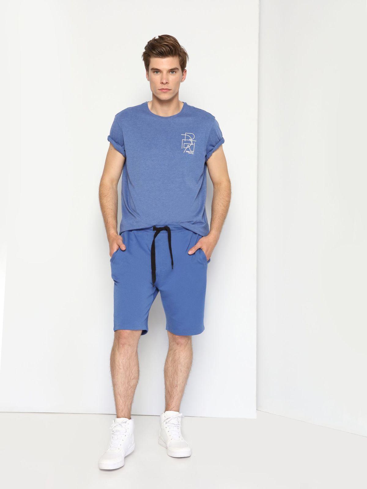 DPO0283NIЖенская футболка Drywash выполнена из хлопка с добавлением полиэстера. Модель с круглым вырезом горловины и короткими рукавами и оформлена оригинальным принтом.