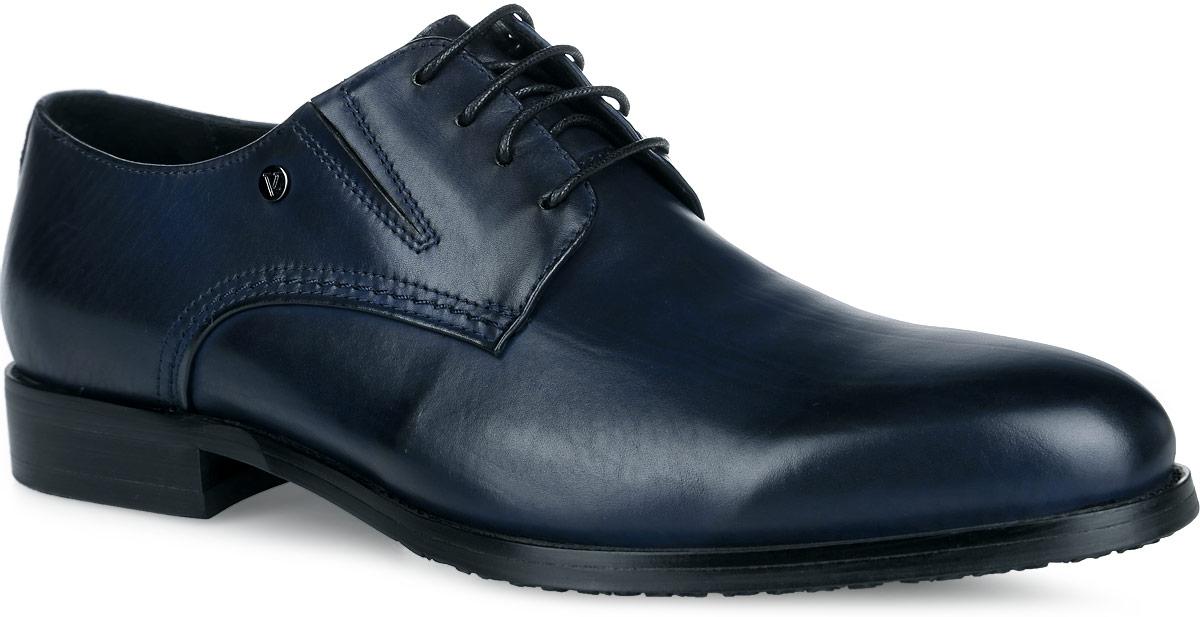 Туфли мужские. M23646M23646Стильные мужские туфли от Vitacci придутся вам по душе. Модель изготовлена из натуральной кожи. Резинки, расположенные на подъеме, обеспечивают оптимальную посадку обуви на ноге. Подъем дополнен шнуровкой, которая надежно зафиксирует обувь на вашей ноге. Подкладка из натуральной кожи обеспечивает дополнительный комфорт и предотвращает натирание. Стелька из натуральной кожи позволит ногам дышать. Эластичная подошва выполнена из термополиуретана. Стильные туфли - необходимая вещь в гардеробе каждого мужчины.