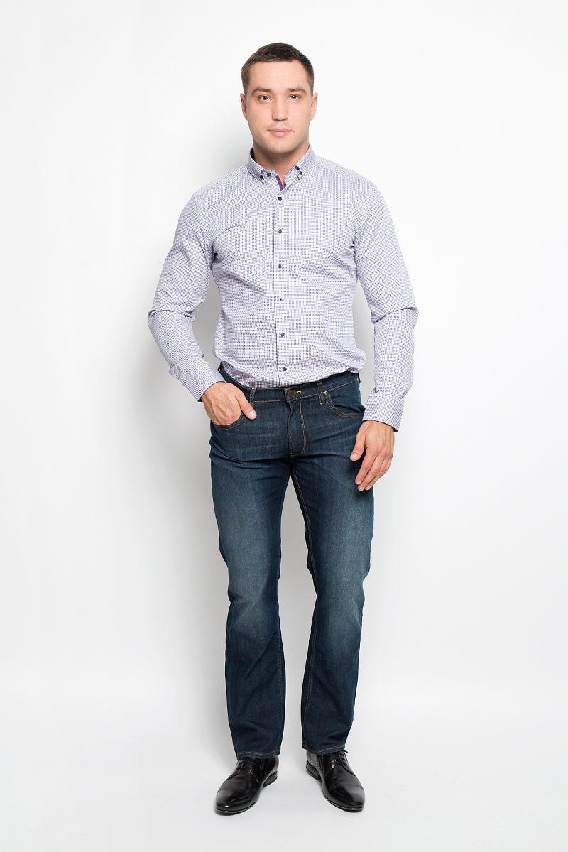 Рубашка4187_93_F14C_37-44Стильная мужская рубашка Eterna, выполненная из натурального хлопка подчеркнет ваш уникальный стиль и поможет создать оригинальный образ. Такой материал великолепно пропускает воздух, обеспечивая необходимую вентиляцию, а также обладает высокой гигроскопичностью. Рубашка с длинными рукавами и отложным воротником застегивается на пуговицы спереди. Манжеты рукавов также застегиваются на пуговицы. Изделие украшено принтом в мелкую клетку. Классическая рубашка - превосходный вариант для базового мужского гардероба и отличное решение на каждый день. Такая рубашка будет дарить вам комфорт в течение всего дня и послужит замечательным дополнением к вашему гардеробу.