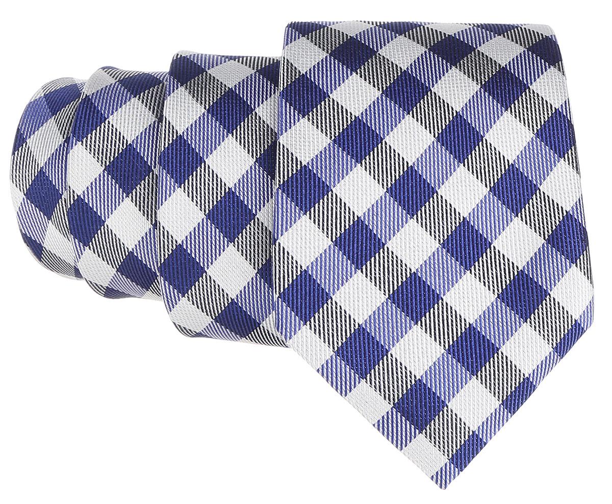 Галстук. 12.01576612.015766Стильный галстук BTC станет отличным завершающим штрихом вашего образа. Этот модный аксессуар порадует вас высоким качеством исполнения и современным дизайном. Изделие полностью выполнено из качественного шелка. Галстук оформлен оригинальным принтом в клетку. Такой оригинальный галстук подойдет как к повседневному, так и к официальному наряду, он позволит вам подчеркнуть свою индивидуальность и создать свой неповторимый стиль.