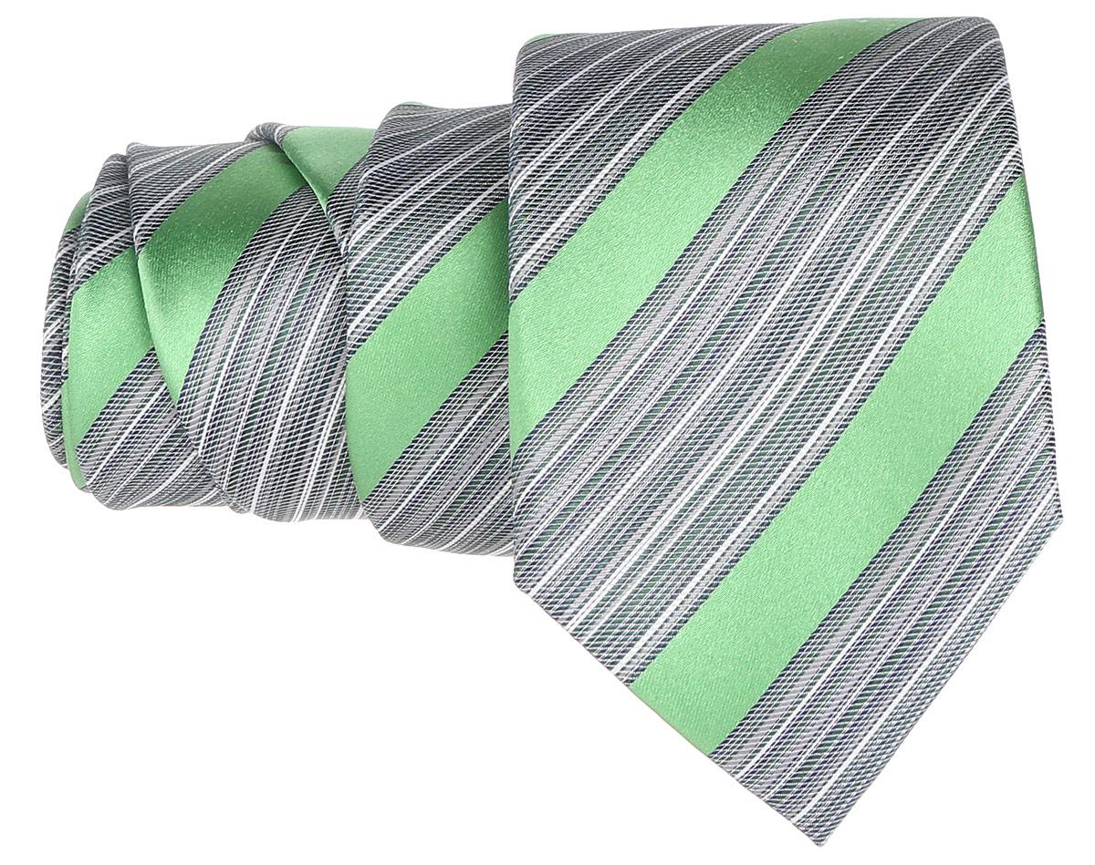Галстук. 12.01551112.015511Стильный галстук BTC станет отличным завершающим штрихом вашего образа. Этот модный аксессуар порадует вас высоким качеством исполнения и современным дизайном. Изделие полностью выполнено из качественного шелка. Галстук оформлен оригинальным принтом. Такой оригинальный галстук подойдет как к повседневному, так и к официальному наряду, он позволит вам подчеркнуть свою индивидуальность и создать свой неповторимый стиль.