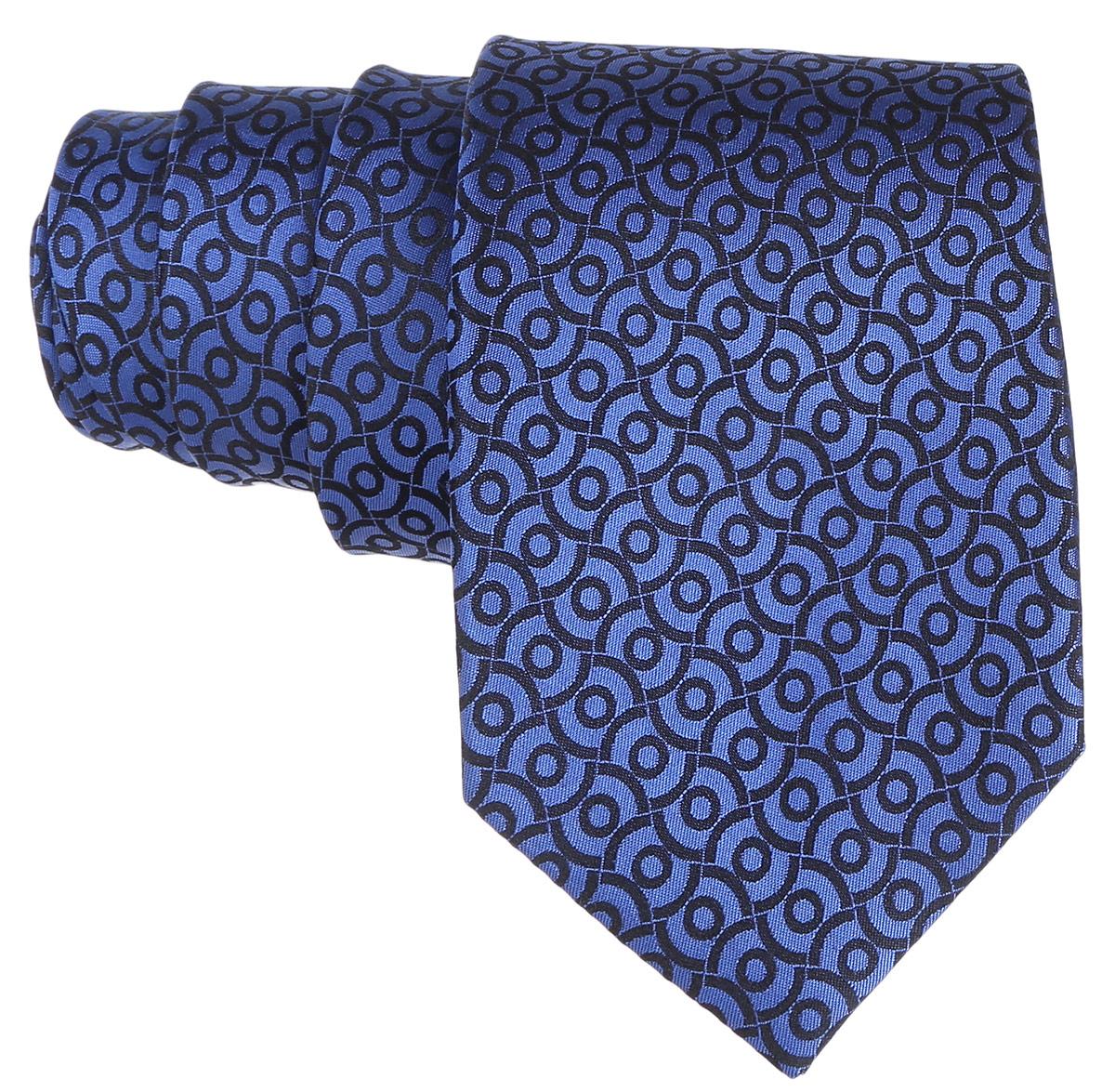 Галстук. 12.01427912.014279Стильный галстук BTC станет отличным завершающим штрихом вашего образа. Этот модный аксессуар порадует вас высоким качеством исполнения и современным дизайном. Изделие полностью выполнено из качественного шелка. Галстук оформлен оригинальным принтом. Такой оригинальный галстук подойдет как к повседневному, так и к официальному наряду, он позволит вам подчеркнуть свою индивидуальность и создать свой неповторимый стиль.