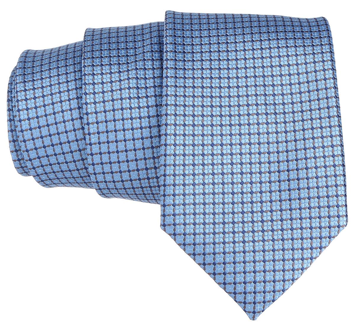 Галстук. 12.01852212.018522Стильный галстук BTC станет отличным завершающим штрихом вашего образа. Этот модный аксессуар порадует вас высоким качеством исполнения и современным дизайном. Изделие полностью выполнено из качественного полиэстера. Галстук оформлен оригинальным принтом. Такой оригинальный галстук подойдет как к повседневному, так и к официальному наряду, он позволит вам подчеркнуть свою индивидуальность и создать свой неповторимый стиль.