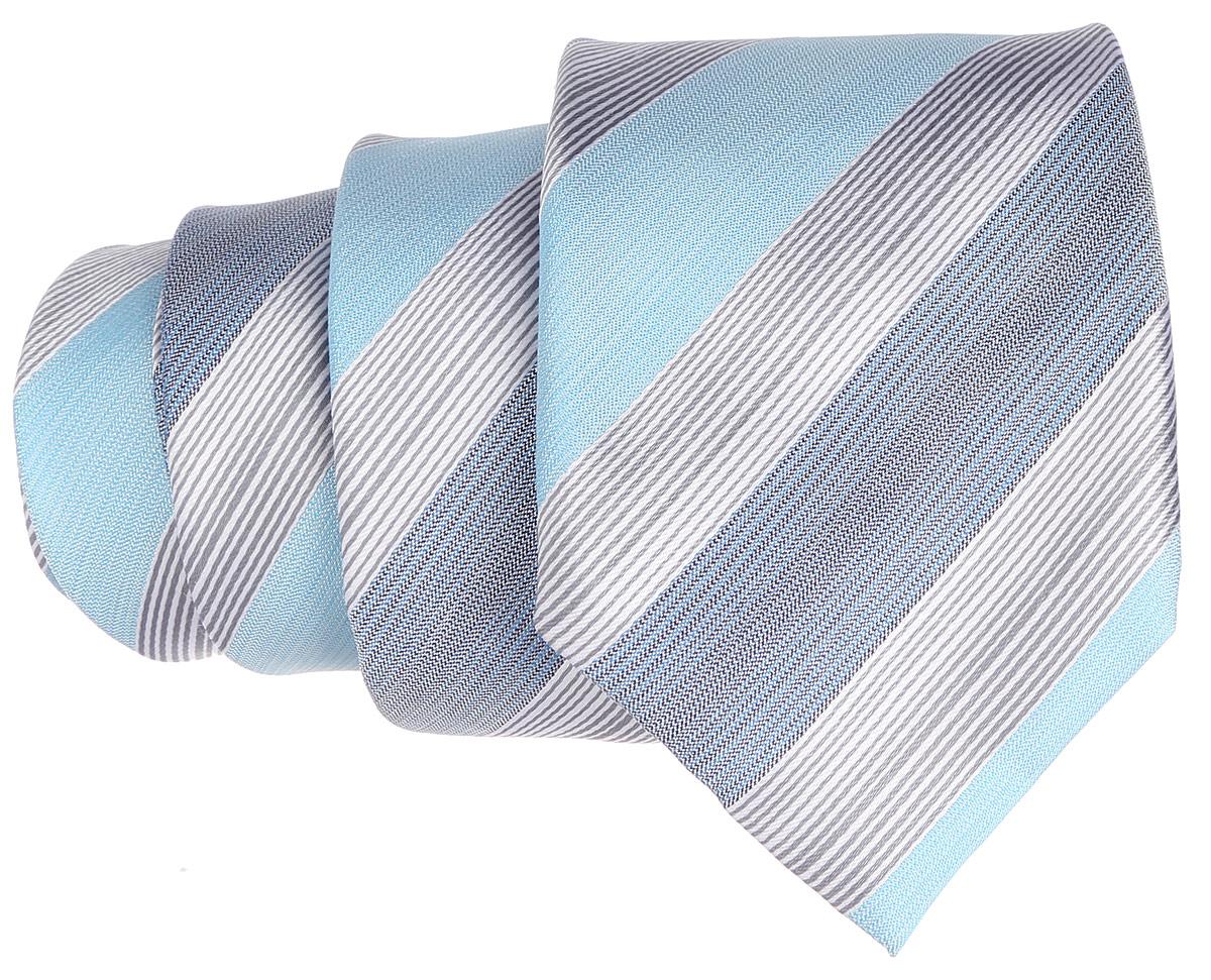 Галстук. 12.01548112.015481Стильный галстук BTC станет отличным завершающим штрихом вашего образа. Этот модный аксессуар порадует вас высоким качеством исполнения и современным дизайном. Изделие полностью выполнено из качественного шелка. Галстук оформлен оригинальным принтом. Такой оригинальный галстук подойдет как к повседневному, так и к официальному наряду, он позволит вам подчеркнуть свою индивидуальность и создать свой неповторимый стиль.