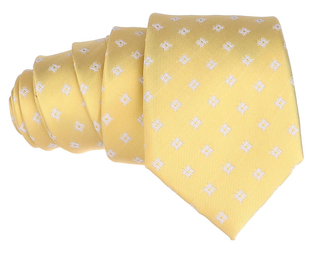 Галстук. 12.01549112.015490Стильный галстук BTC станет отличным завершающим штрихом вашего образа. Этот модный аксессуар порадует вас высоким качеством исполнения и современным дизайном. Изделие полностью выполнено из качественного шелка. Галстук оформлен оригинальным принтом. Такой оригинальный галстук подойдет как к повседневному, так и к официальному наряду, он позволит вам подчеркнуть свою индивидуальность и создать свой неповторимый стиль.