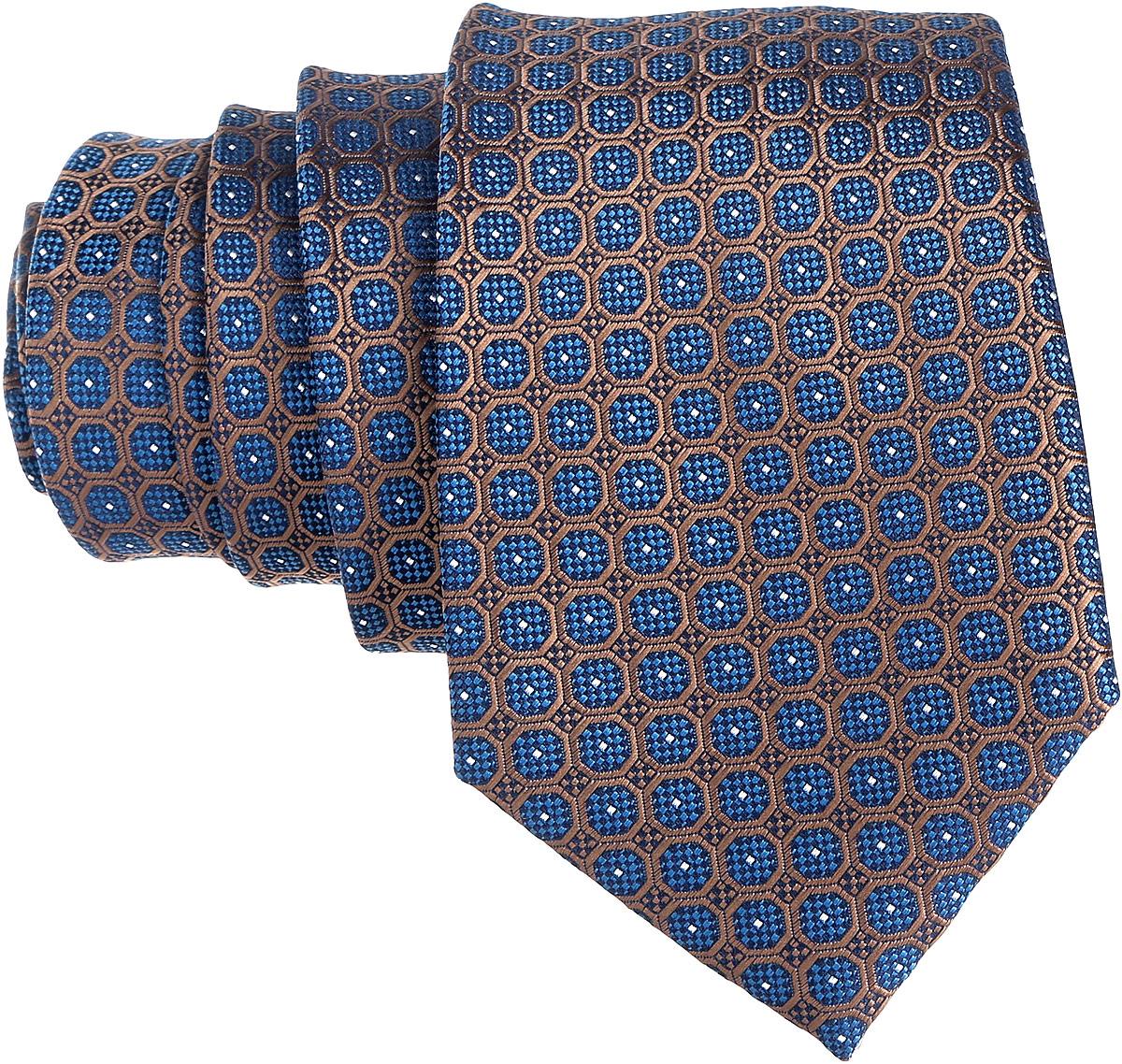 Галстук. 12.01522412.015224Стильный галстук BTC станет отличным завершающим штрихом вашего образа. Этот модный аксессуар порадует вас высоким качеством исполнения и современным дизайном. Изделие полностью выполнено из качественного полиэстера. Галстук оформлен оригинальным принтом. Такой оригинальный галстук подойдет как к повседневному, так и к официальному наряду, он позволит вам подчеркнуть свою индивидуальность и создать свой неповторимый стиль.