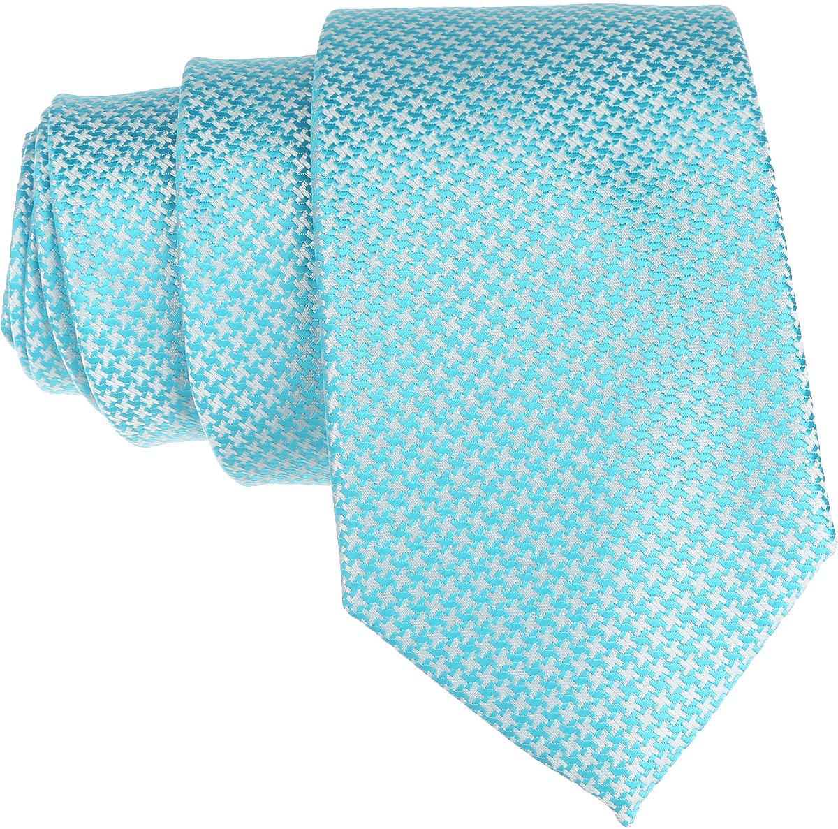 Галстук. 12.01527612.015276Стильный галстук BTC станет отличным завершающим штрихом вашего образа. Этот модный аксессуар порадует вас высоким качеством исполнения и современным дизайном. Изделие полностью выполнено из качественного полиэстера. Галстук оформлен оригинальным принтом. Такой оригинальный галстук подойдет как к повседневному, так и к официальному наряду, он позволит вам подчеркнуть свою индивидуальность и создать свой неповторимый стиль.