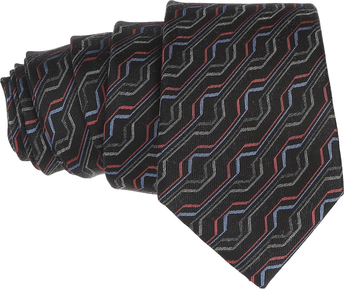 Галстук. 12.01515512.015155Стильный галстук BTC станет отличным завершающим штрихом вашего образа. Этот модный аксессуар порадует вас высоким качеством исполнения и современным дизайном. Изделие полностью выполнено из качественного шелка. Галстук оформлен оригинальным принтом. Такой оригинальный галстук подойдет как к повседневному, так и к официальному наряду, он позволит вам подчеркнуть свою индивидуальность и создать свой неповторимый стиль.