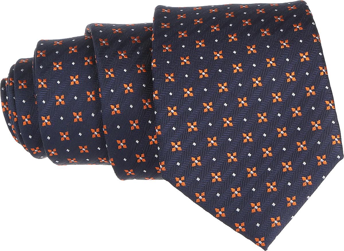 Галстук. 12.01513512.015135Стильный галстук BTC станет отличным завершающим штрихом вашего образа. Этот модный аксессуар порадует вас высоким качеством исполнения и современным дизайном. Изделие полностью выполнено из качественного шелка. Галстук оформлен оригинальным принтом. Такой оригинальный галстук подойдет как к повседневному, так и к официальному наряду, он позволит вам подчеркнуть свою индивидуальность и создать свой неповторимый стиль.