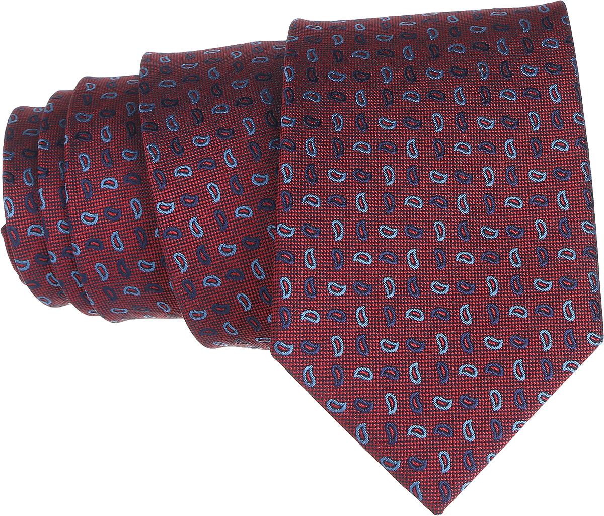 Галстук. 12.01851312.018512Стильный галстук BTC станет отличным завершающим штрихом вашего образа. Этот модный аксессуар порадует вас высоким качеством исполнения и современным дизайном. Изделие полностью выполнено из качественного полиэстера. Галстук оформлен оригинальным принтом. Такой оригинальный галстук подойдет как к повседневному, так и к официальному наряду, он позволит вам подчеркнуть свою индивидуальность и создать свой неповторимый стиль.