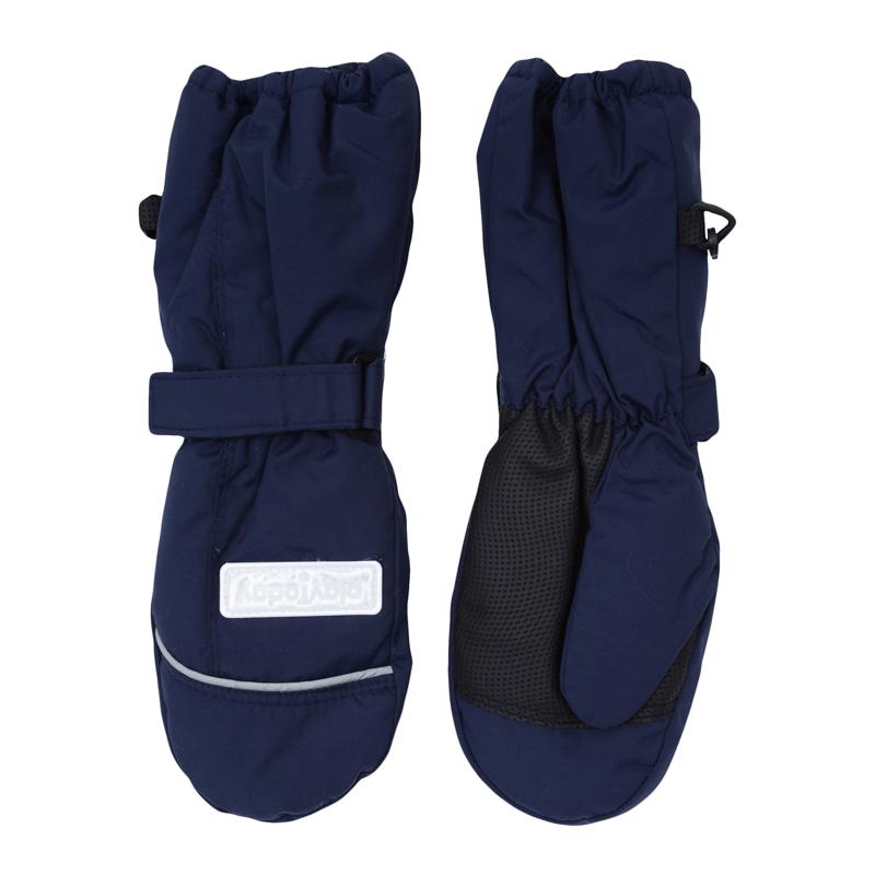 Рукавицы для мальчиков. 360008360008Теплые рукавицы из непромокаемой плащевки. Утягиваются липучками, верх на мягкой резинке. Усиленный антискользящий материал на ладошках. Внутри уютная флисовая подкладка.