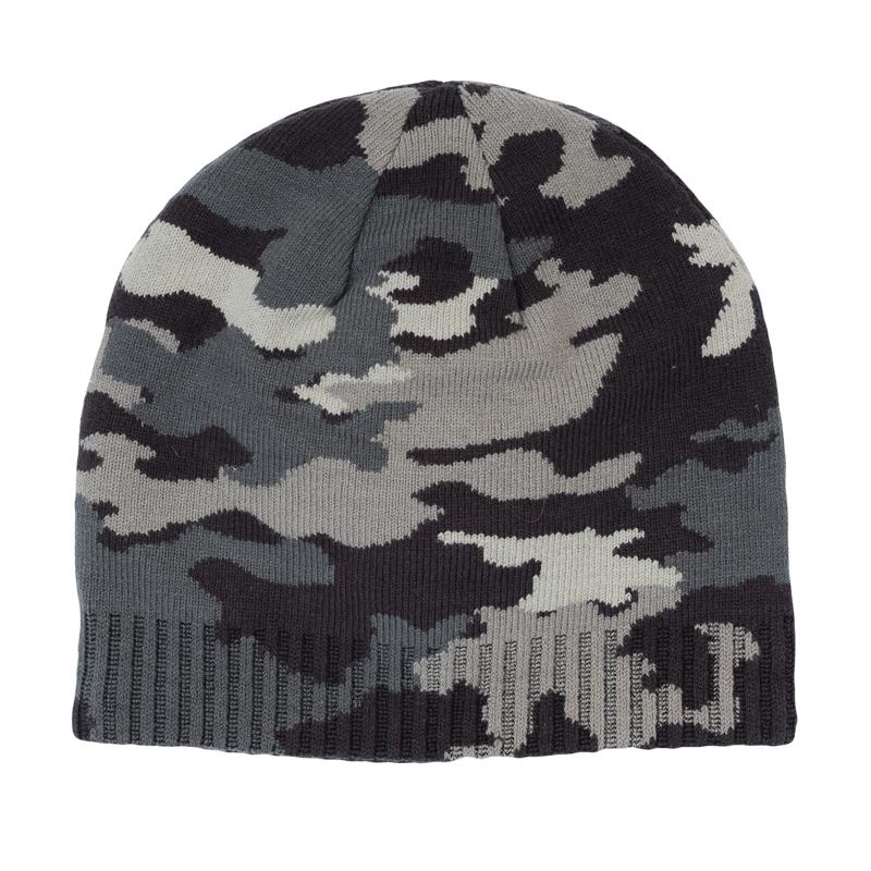 Шапка детская361039Уютная вязаная шапочка в стиле милитари. Низ на мягкой резинке.