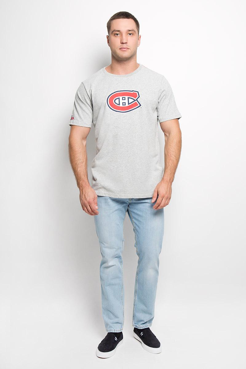 29230Спортивная футболка NHL Monreal Canadiens, выполненная из высококачественного хлопка, обладает высокой теплопроводностью, воздухопроницаемостью и гигроскопичностью, позволяет коже дышать. Модель с короткими рукавами и круглым вырезом горловины оформлена принтовой эмблемой хоккейного клуба Monreal Canadiens с эффектом потрескавшейся краски. Классический покрой, лаконичный дизайн, безукоризненное качество. В такой футболке вы будете чувствовать себя уверенно и комфортно.
