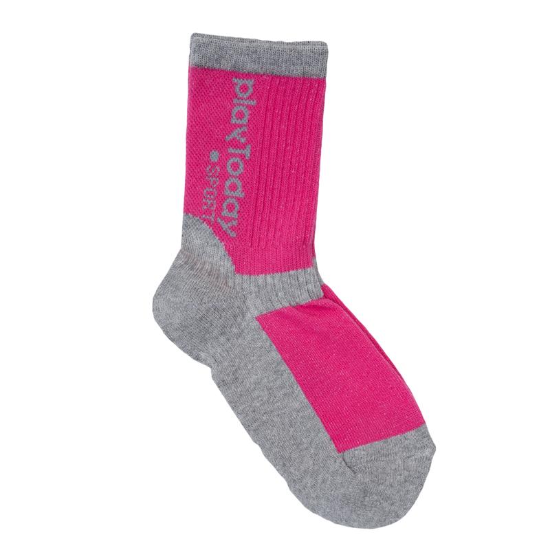 Носки для девочек. 369028369028Удобные утягивающие носочки для занятий спортом. Мягкие и эластичные, верх на резинке.