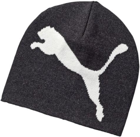Шапка. 0529250605292506Двухслойная вязаная в резинку шапка с логотипами Puma, вывязанными пряжей контрастного цвета.