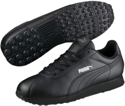 Кроссовки мужские. 3601160636011606Модель PUMA Turin напоминает обувь футболистов. Благодаря мягкой искусственной коже верха и амортизирующей промежуточной подошве из этиленвинилацетата эта модель дарит комфорт, сохраняя все признаки классической спортивной обуви, и при этом прекрасно подходит для повседневной носки.