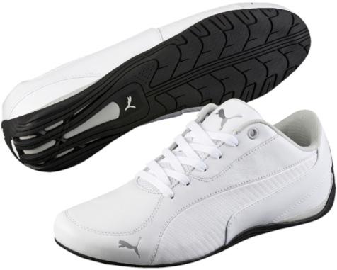 Кроссовки женские. 3611370336113703Модель Drift Cat 5 Carbon – просто находка для любого поклонника автоспорта. Простой и лаконичный силуэт этих низких и элегантных кроссовок подчеркивается интересным сочетанием нешлифованной натуральной кожи, искусственной кожи и ткани в качестве материалов верха. В этой обуви вы будете чувствовать себя комфортно и уверенно не только за рулем автомобиля.