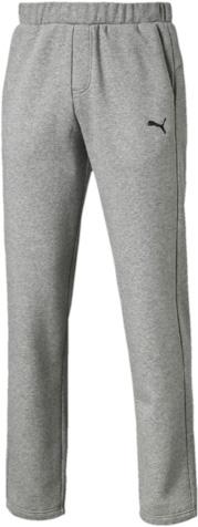 838263_01Спортивные брюки Puma ESS Sweat Pants FL Op, выполненные из дышащей ткани с флисовой подкладкой, имеют свободный крой. Они идеально подходят для активного отдыха и занятий спортом в холодное время года. Удобные, комфортные, они не стеснят вас в движениях и подарят ощущение легкости. Ткань с добавлением полиэстера обеспечивает длительный срок эксплуатации изделия. Пояс регулируется затягивающимся шнуром. По бокам расположены прорезные карманы. Кокетка на задней стороне изделия обеспечивает лучшую посадку по фигуре. Брюки оформлены вышитым логотипом бренда.