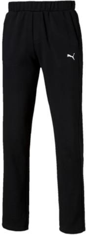Брюки спортивные мужские. 8382630183826301Спортивные брюки Puma ESS Sweat Pants FL Op, выполненные из дышащей ткани с флисовой подкладкой, имеют свободный крой. Они идеально подходят для активного отдыха и занятий спортом в холодное время года. Удобные, комфортные, они не стеснят вас в движениях и подарят ощущение легкости. Ткань с добавлением полиэстера обеспечивает длительный срок эксплуатации изделия. Пояс регулируется затягивающимся шнуром. По бокам расположены прорезные карманы. Кокетка на задней стороне изделия обеспечивает лучшую посадку по фигуре. Брюки оформлены вышитым логотипом бренда.