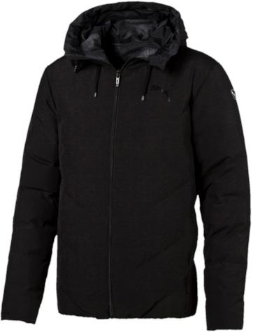 Куртка838656_45Двусторонняя куртка Puma Style Reverse Hd Padded Jacket защитит вас от непогоды. Верхняя куртка декорирована логотипом Puma, нанесенным методом глянцевой печати, а также силиконовой эмблемой Puma. Среди других отличительных особенностей модели - капюшон изменяемой формы с затягивающимися шнурами, снабженными стопорами, наращенный спереди ворот, защищающий шею и подбородок от ветра, боковые карманы на молнии с односторонней подкладкой из флиса. Нижняя куртка украшена графическим набивным рисунком, нанесенным методом сублимационной печати. Модель декорирована логотипом Puma, нанесенным методом глянцевой печати, капюшон изменяемой формы с затягивающимися шнурами, снабженными стопорами, наращённый спереди ворот, защищающий шею и подбородок от ветра, карманы с обтачками.